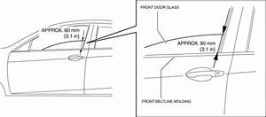 Mazda 3 Service Manual - Front Door Latch Switch Inspection  Lids  U0026 Hood  Trunk