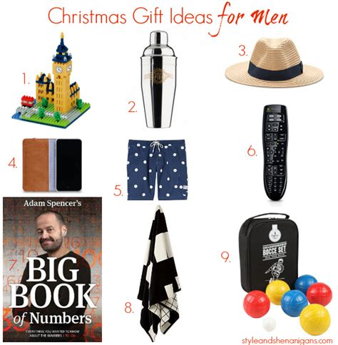 christmas gift ideas for men style shenanigans