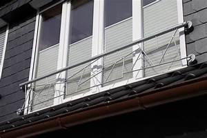 franzosische balkone aus edelstahl With französischer balkon mit betonsäulen für gartenzaun