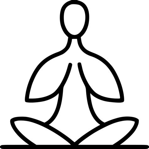 Almost files can be used for commercial. Yoga Svg Png Icon Free Download (#473051) - OnlineWebFonts.COM