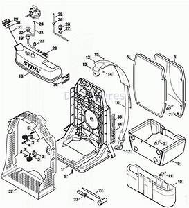 32 Stihl Br 350 Parts Diagram