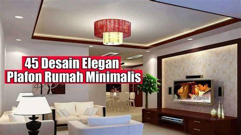model plafon rumah minimalis ruang tamu