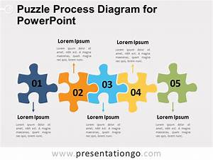 Puzzle Process Diagram For Powerpoint