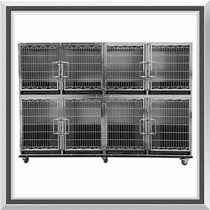 flying pig professional stainless steel modular kennel cage With professional dog kennels for sale