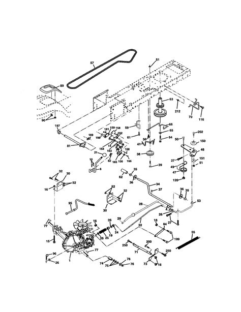lawn mower engine part diagram lawn free engine image