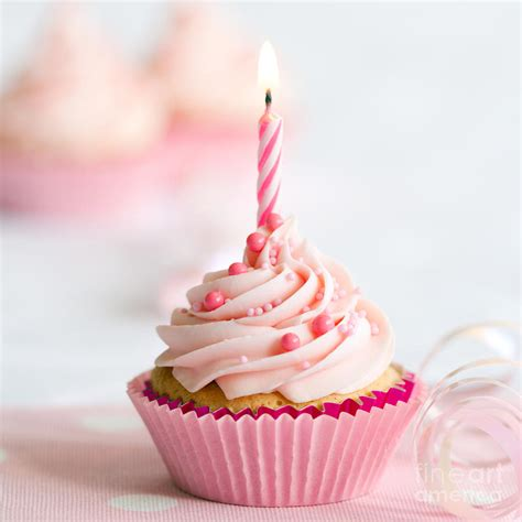 birthday cupcake birthday cupcake photograph by ruth black