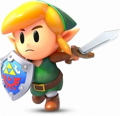 Zelda Characters Awakening Transparent Personajes Link Links