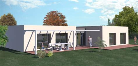 plan maison plain pied 3 chambres gratuit construction 86 fr gt plan maison contemporaine plain pied