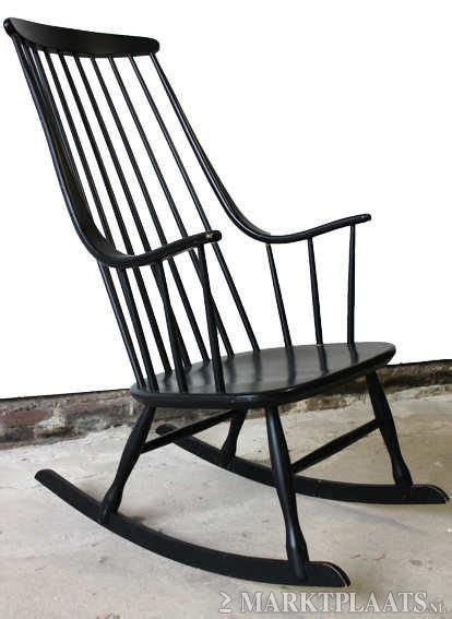 schommelstoel berger schommelstoel zwart gd pinterest living rooms room