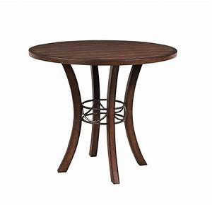 Cameron Counter Height Round Table (Chestnut Brown Finish