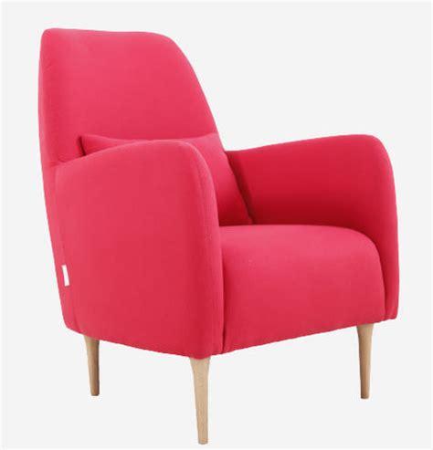 fauteuil habitat daborn fauteuil en tissu ventes pas cher
