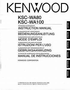 Download Free Pdf For Kenwood Ksc