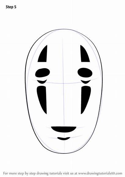 Spirited Away Face Draw Step Drawing Ghibli