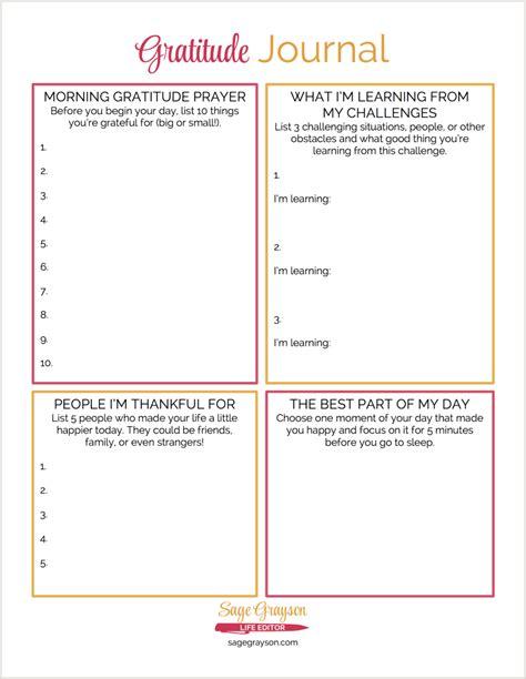 gratitude journal template free printable gratitude journal grayson editor