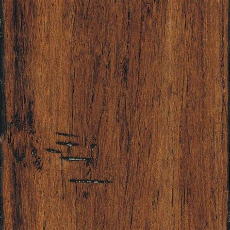 home legend bamboo flooring home legend scraped strand woven spice 3 8 in x 5 1