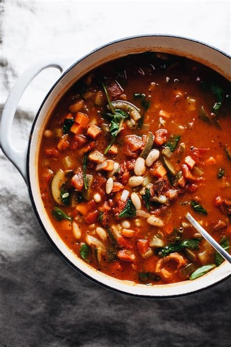 tuscan kale  white bean soup  simple palate