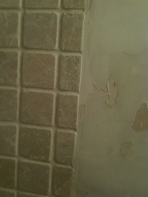 chair rail or tile cap in bathroom home improvement