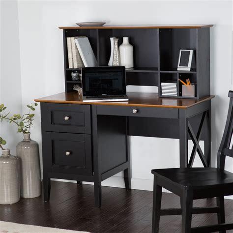 black desk with hutch belham living hton desk with optional hutch black oak