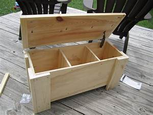 outdoor wood storage bench plans Quick Woodworking Projects