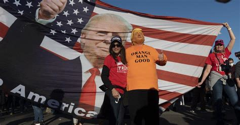 US elections: Thousands of Americans hold rally in support ...