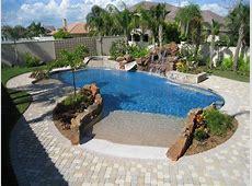 Simple Contemporary Pool Idea Decoseecom