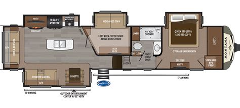 montana 5th wheel floor plans new 2018 keystone montana 3950br fifth wheel oklahoma city