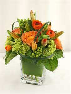 floral delivery birthday flowers bd0012 contemporary low vase arrangement