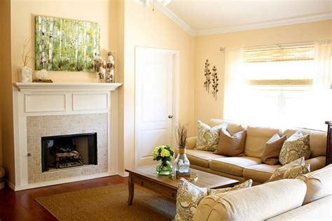 Cream Living Room Paint Color