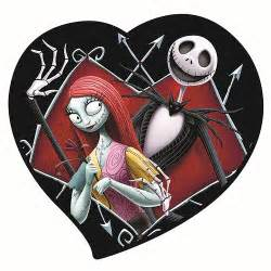 skeleton wedding cake toppers nightmare before christmas sally in heart magnet