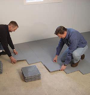 Thermaldry® Dry Basement Floor Matting  Basement Systems