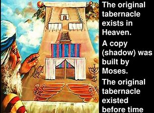 Image result for Tabernacle a copy of HEAVEN