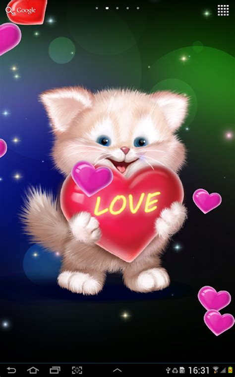 Cute Cat Live Wallpaper  Android Apps On Google Play
