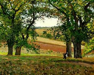 File:Pissarro, Camille, Les chataigniers a Osny (The Chestnut Trees at Osny), 1873