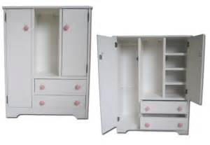 Doll Armoire Plans by Doll Armoire For The American Girl Furniture Storage