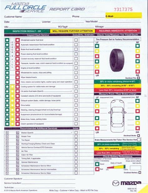 Xpress Boat Dealers In Ms by Multi Point Vehicle Inspection Forms 2 Part Plain