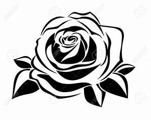 Rose stencil | Stencil | Pinterest | Rose stencil, Rose ...