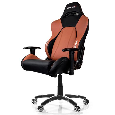 siege chronopost akracing premium gaming chair marron siège pc akracing