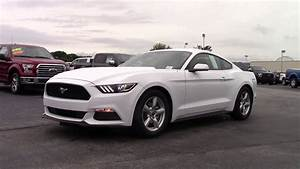 2016 Ford Mustang White - Dylan Calkins - Marshal Mize Ford - Chattanooga Ford Dealership - YouTube