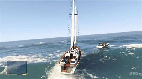 Boat R Gta 5 by Grand Theft Auto 5 Yacht Boat Gameplay Hd
