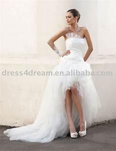 wedding dress short front long back all women dresses With short in the front long in the back wedding dresses