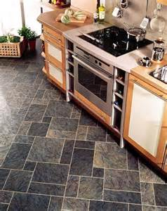 kitchen floors ideas kitchens flooring idea sn36 slate with mp78 meteor gold stripping by amtico vinyl