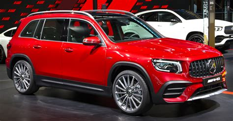 The new amg glb 35 balances the equation a bit, but at roughly $15,000 less than the amg model, the x1 holds the clear value advantage. File:Mercedes-AMG GLB 35 4MATIC (X247) at IAA 2019 IMG 0668.jpg - Wikipedia