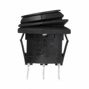Switch On  Off  On 3 Position Spdt Round Car Motorbike Boat