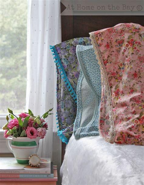 shabby fabrics pillowcase tutorial diy shabby chic home decor ideas