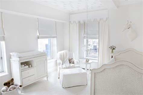 All White Nurseries Bold Or Bland?  Project Nursery