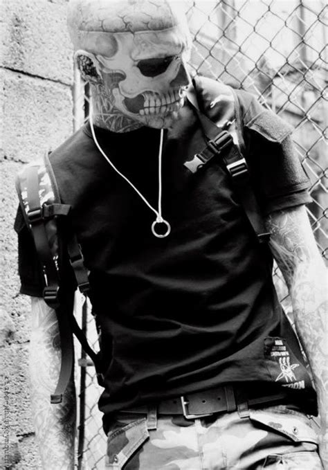 Rick Genest / Male Models, Tattoos...SERIOUSLY?! He get's even hotter? My favorite picture of