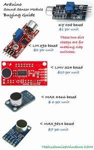 Arduino Sound Sensor Module Buying Guide