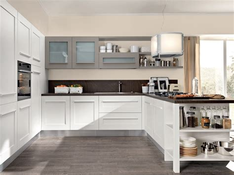cuisines integrees gallery cuisine avec poignées intégrées by lube industries