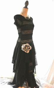 Black Gypsy Maxi Dress, Stevie Nicks from True Rebel Clothing