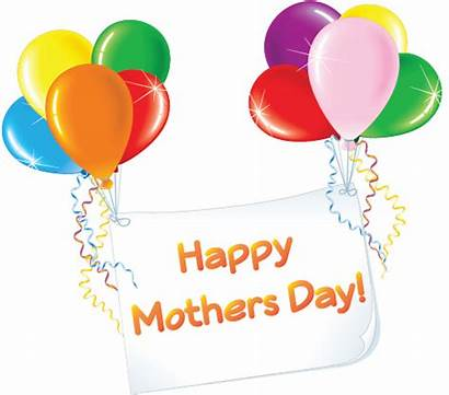 Mother Mothers Happy Clipart Clip Balloons Card